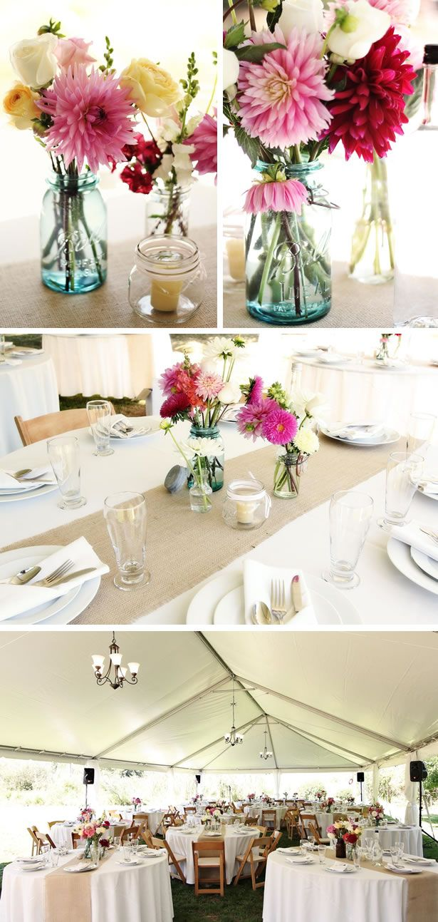 Shabby Chic Wedding Garden Wedding: Jessie and Peter | Wedding, Chic ...