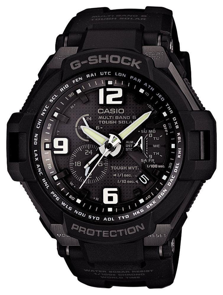 f581a44ca97be CASIO G-SHOCK SKY COCKPIT MULTIBAND 6 GW-4000A-1AJF Men s watch F S EMS   Casio