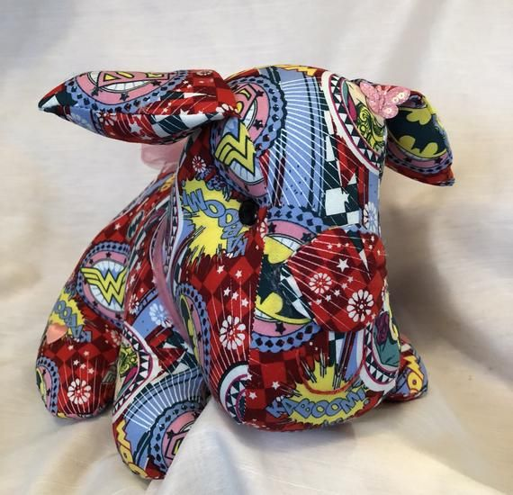Handmade stuffed animal, dog lovers gift, decorative pillow, soft sculpture, unique gift, baby gifts, gift for kids
