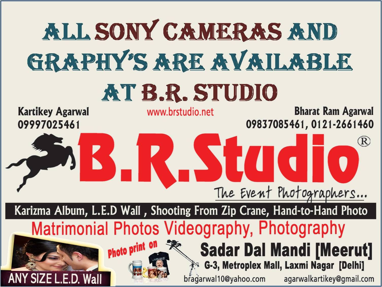 B R Studio Dealing In Cameras And Graphy S At Very Affordable