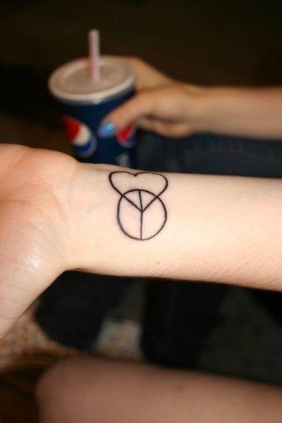 Good Night Posterous Simple Tattoos Heart Tattoo Wrist Tattoos