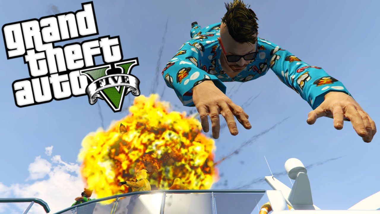 Helicopter Dive Bombs!! GTA 5 Online Gameplay (PS4) Gta
