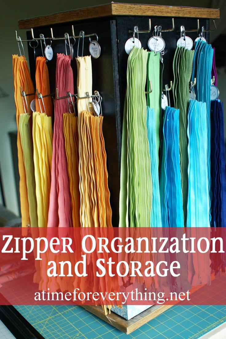 zipper organization and storage | Sewing | Pinterest | Nähzimmer ...