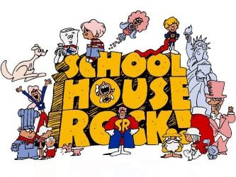 Schoolhouse Rock.  How the majority of the 1970s kids passed their tests on the…