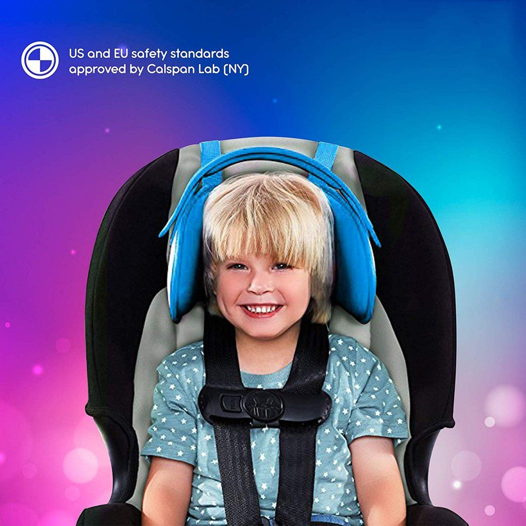 NEW Child Car Seat Head Support A Comfortable Safe