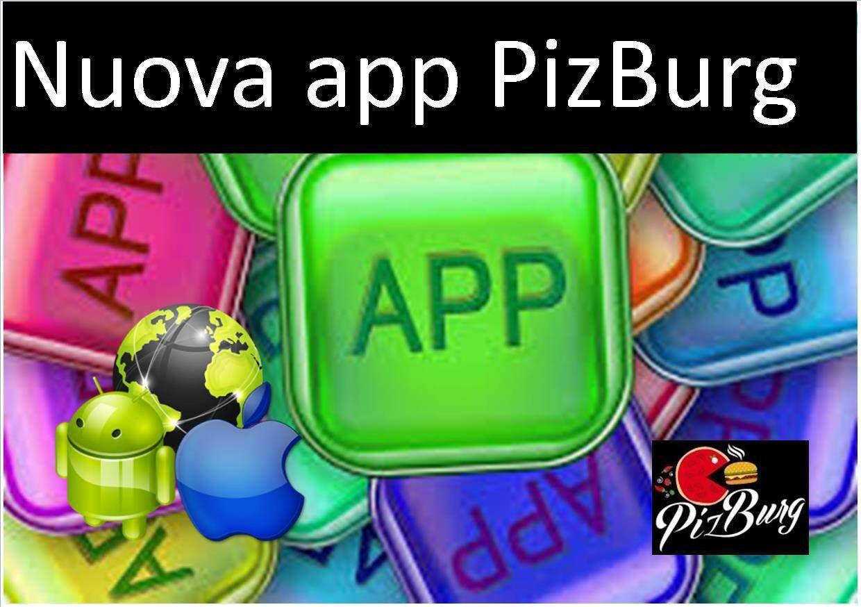 Nuova app pizburg