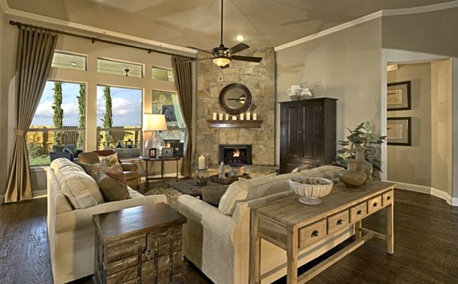 Love this living room - probably because most of the decor is pottery barn