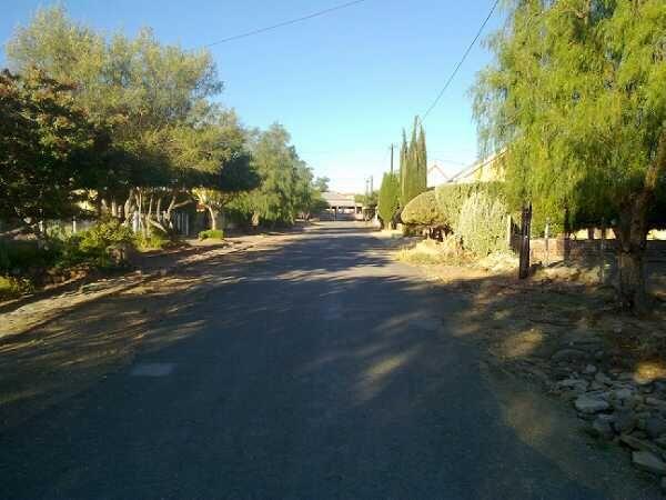 Quiet street in Jansenville