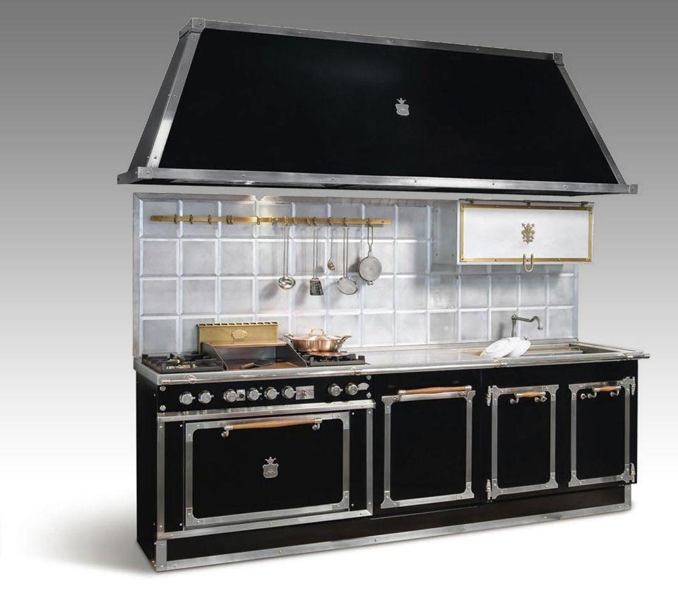 Cappe in acciaio per cucine affordable collezione lavelli - Cappe in rame per cucine ...