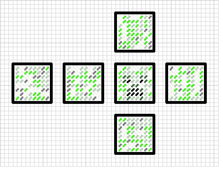 Minecraft creeper head plastic canvas pattern   plastic canvas ...