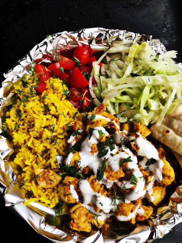 Halal style street food recipe meat casserole recipes