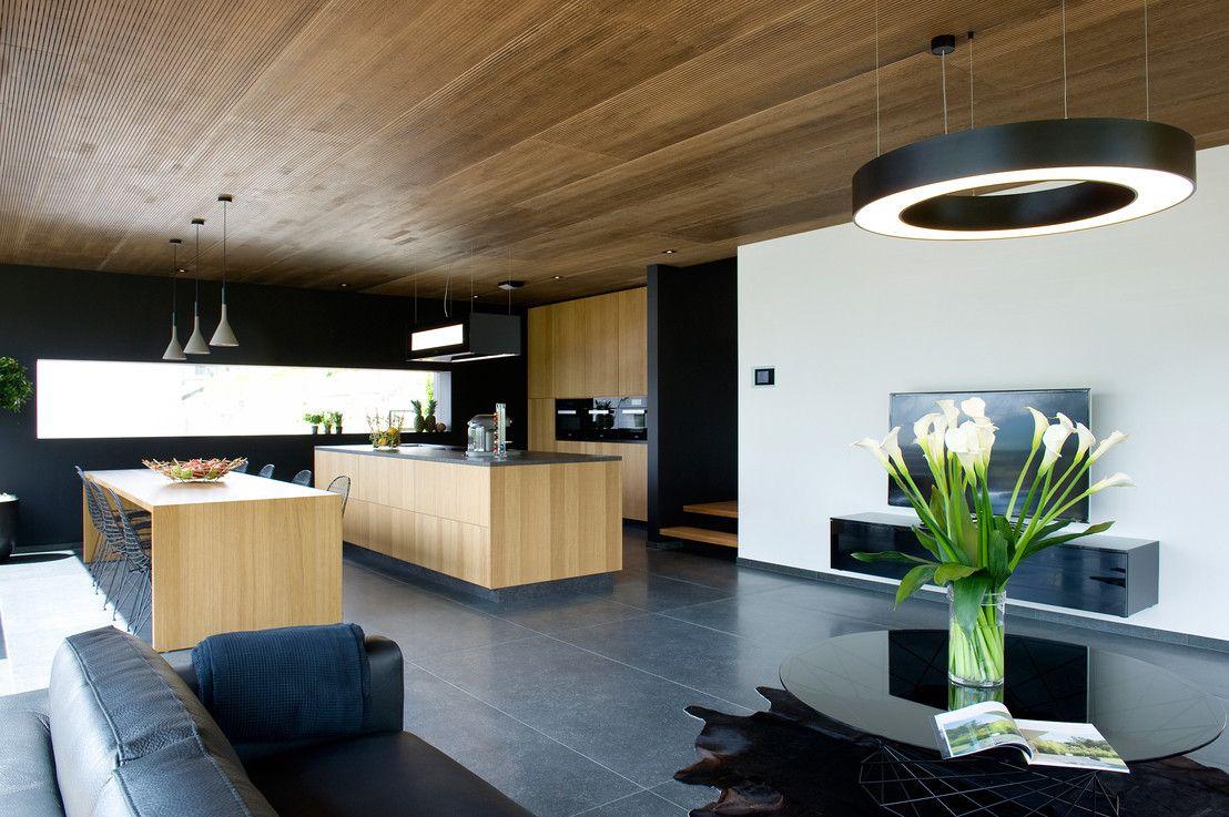 Massivholz und Beton: Traumkombi für\'s Haus   Architecture interior ...