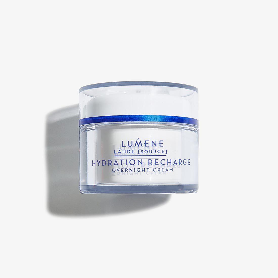 Recharge Tehokosteuttava Hydration Night Cream    Lumene