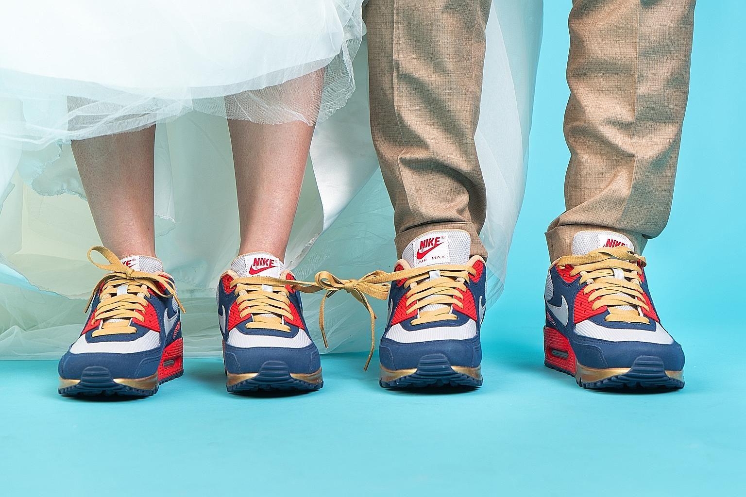 Pin by Loveweddingsng on Brides in Sneakers | Pinterest | Weddings