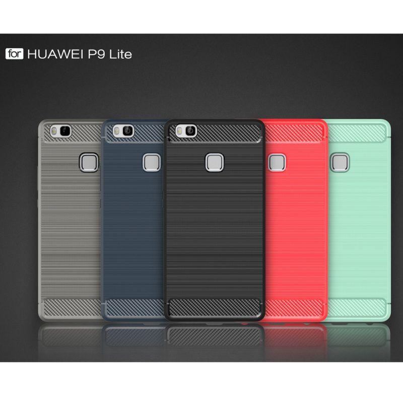 Shell for Huawei P9 Lite /G9 Lite Smart Phone Cases Carbon Fibre ...
