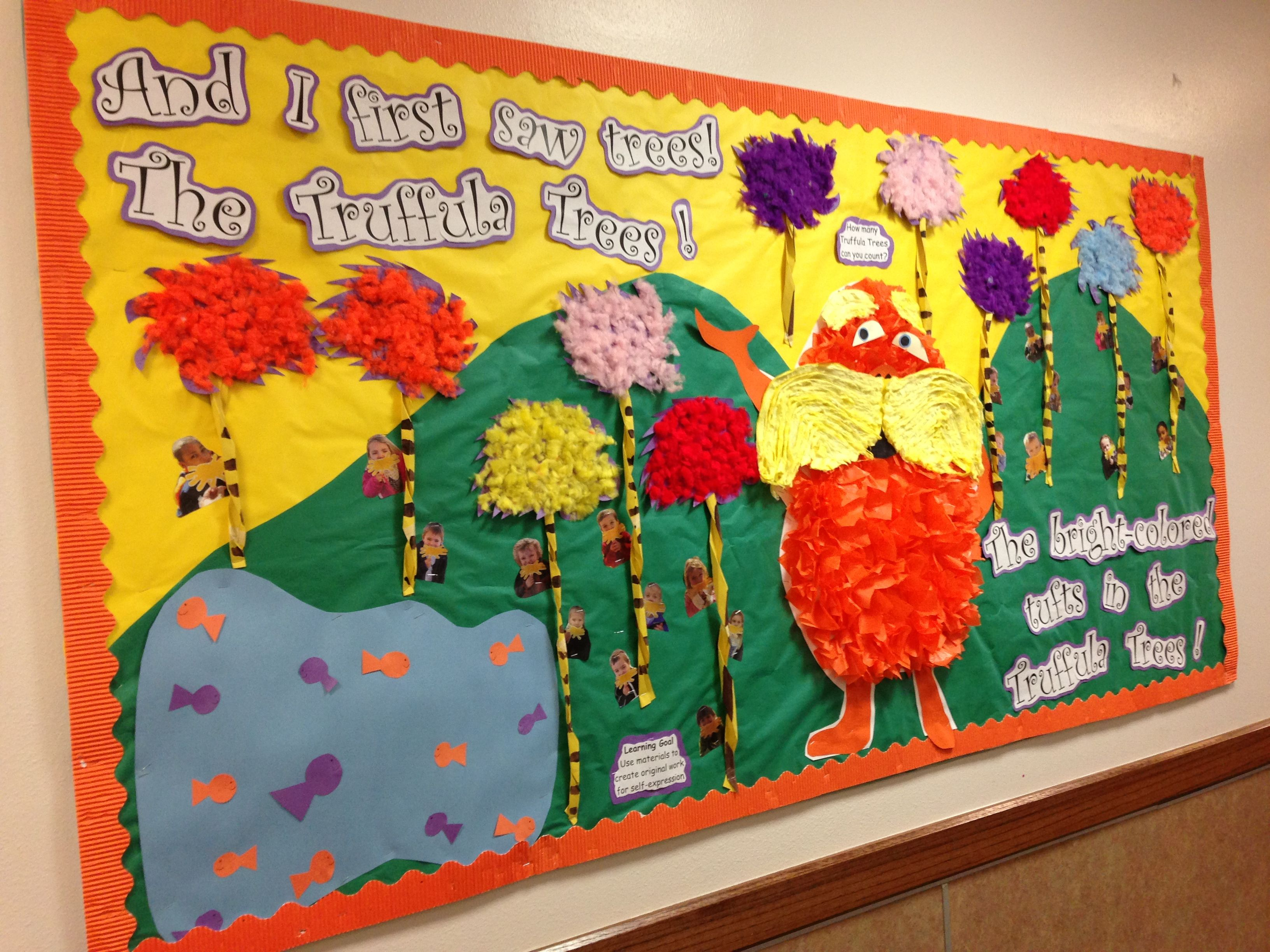 The Lorax Bulletin Board My Friend Made Dr Seuss