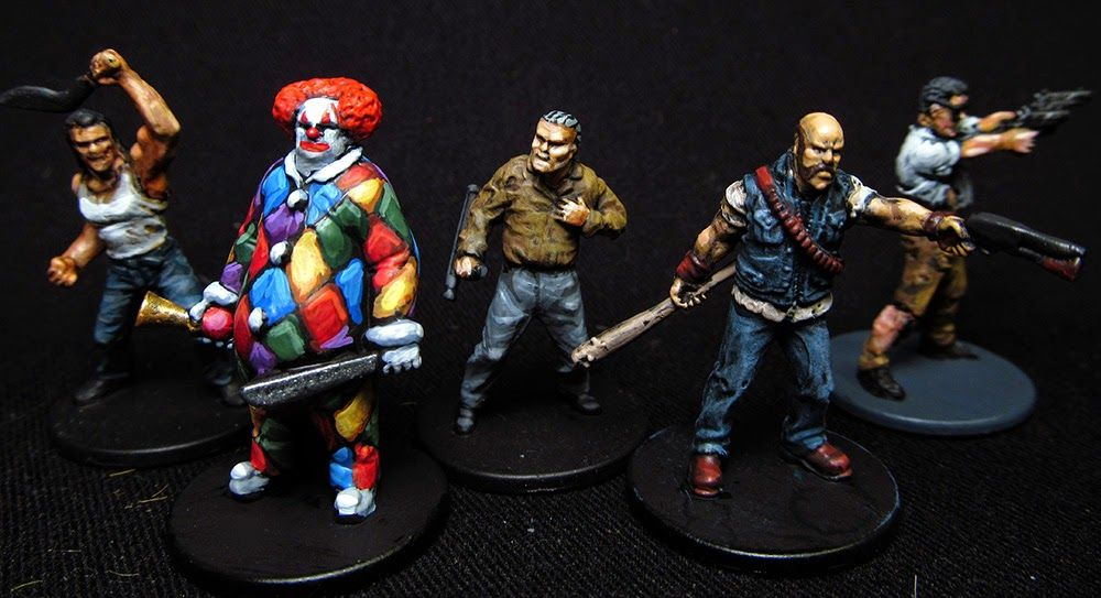 Zombicide Some Random Survivors With Images Game Inspiration