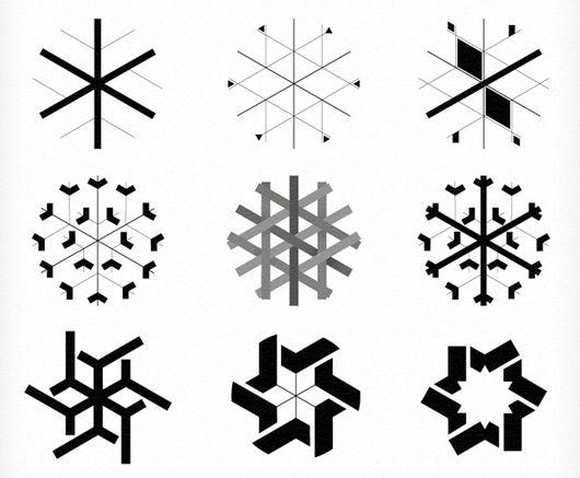 HNY_snowflake-study
