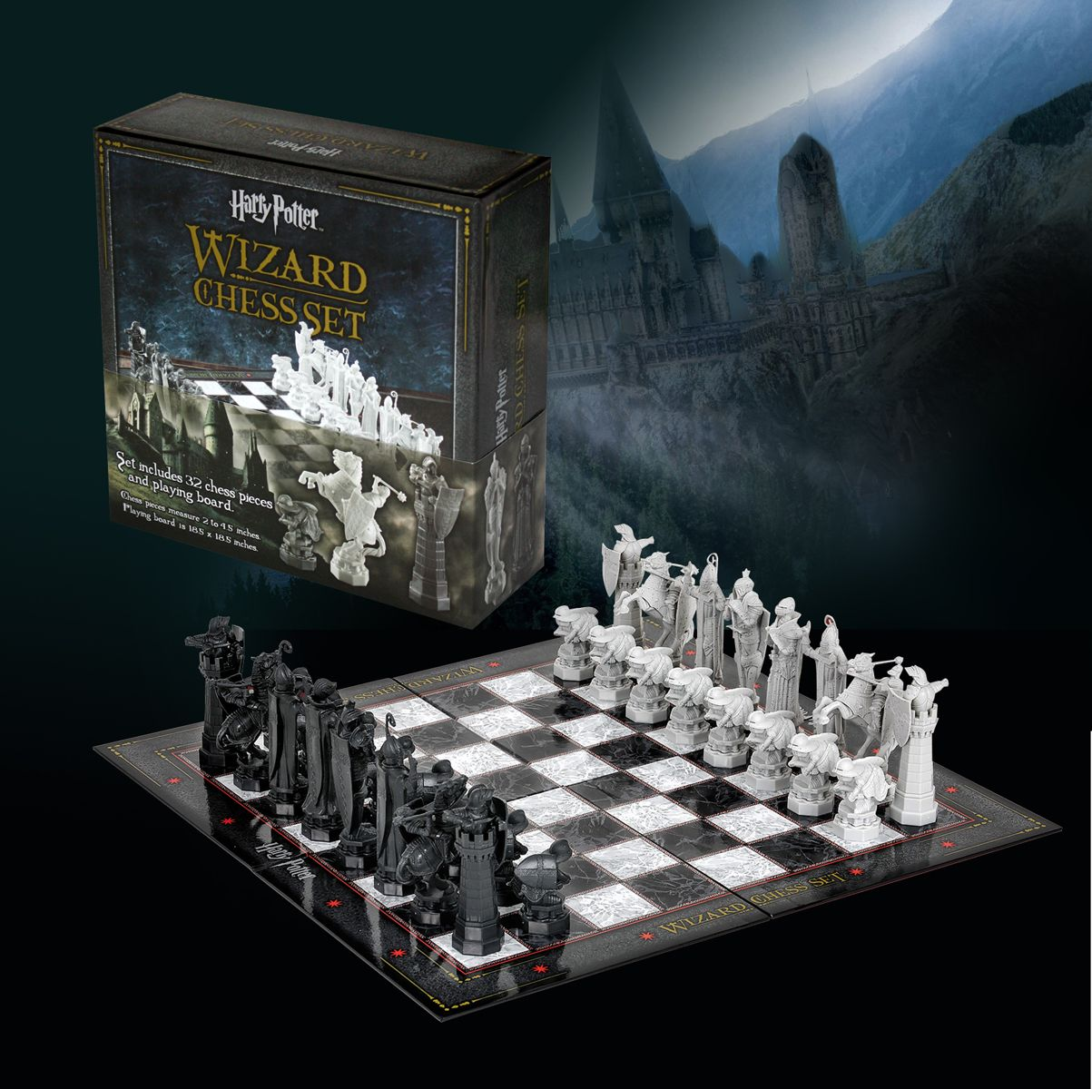 Harry Potter Schachspiel Chess Set In 2020 Schachspiel Schach Spiele