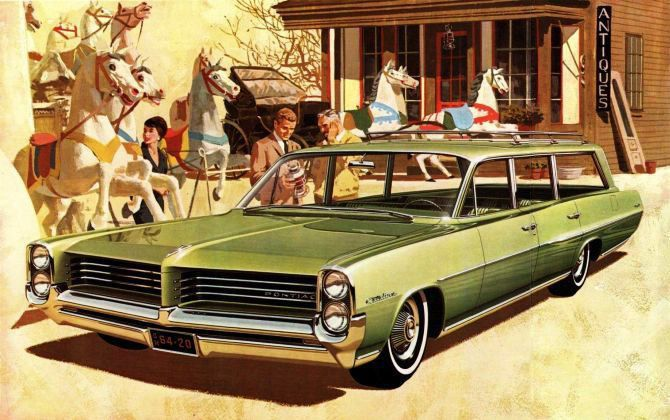 1964 Pontiac Catalina Safari Station Wagon