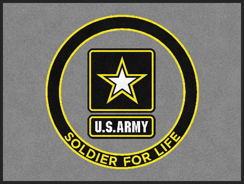 Buy Us Army Soldier For Life Logo Rug Online Rug Rats Us Army Soldier Us Army Logo Army Soldier