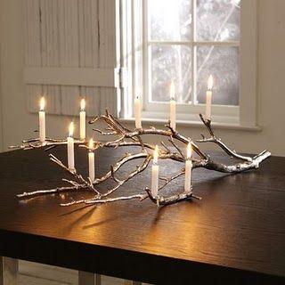Decorar arbol navidad ramas secas buscar con google for Decoracion con ramas secas