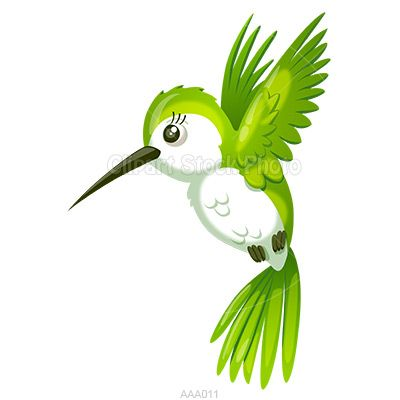 Hummingbird Clip Art | Hummingbird Clip Art, Royalty Free Cartoon ...