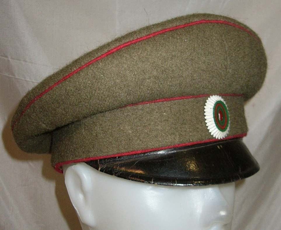 ab7537e9d0794c WWII Bulgarian Army non-commissioned officers' visor cap. | Military ...