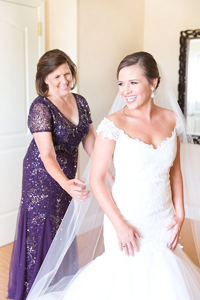 Purple Mother Of The Bride Dress By Adrianna Papell