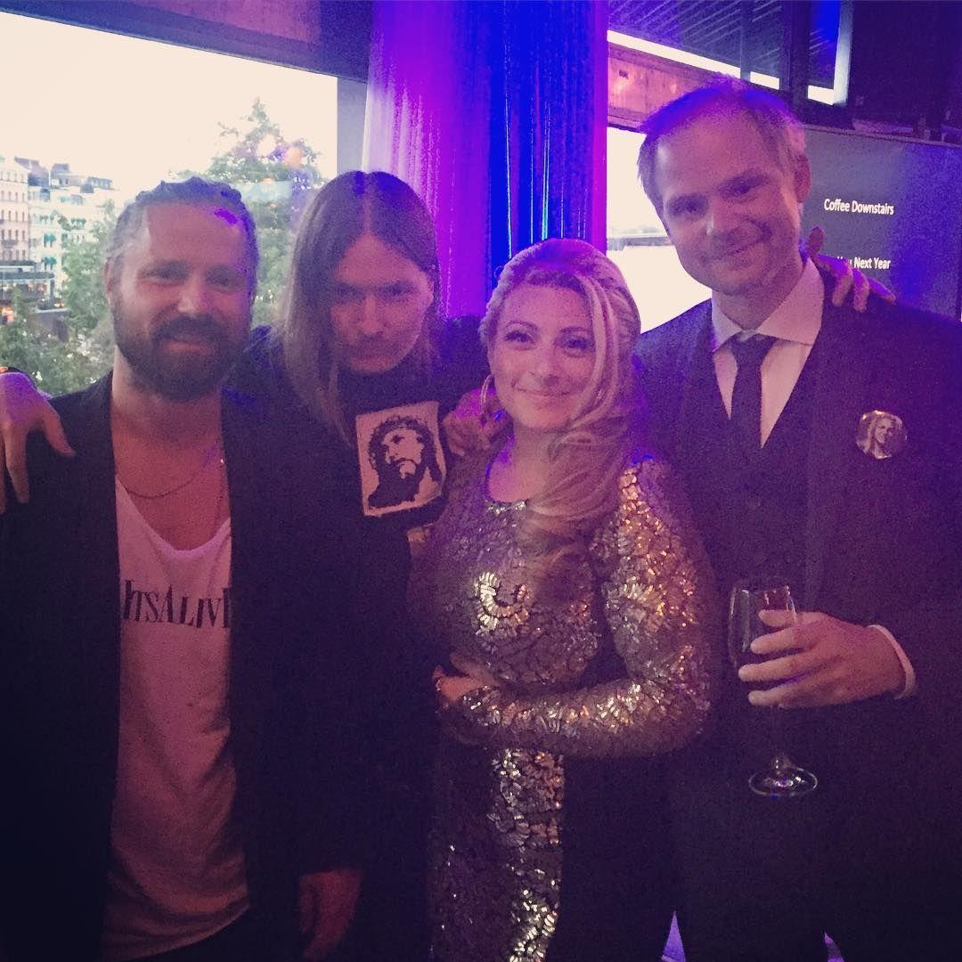 It's Alive Max Martin and Shellback at The Denniz Pop Awards 2016