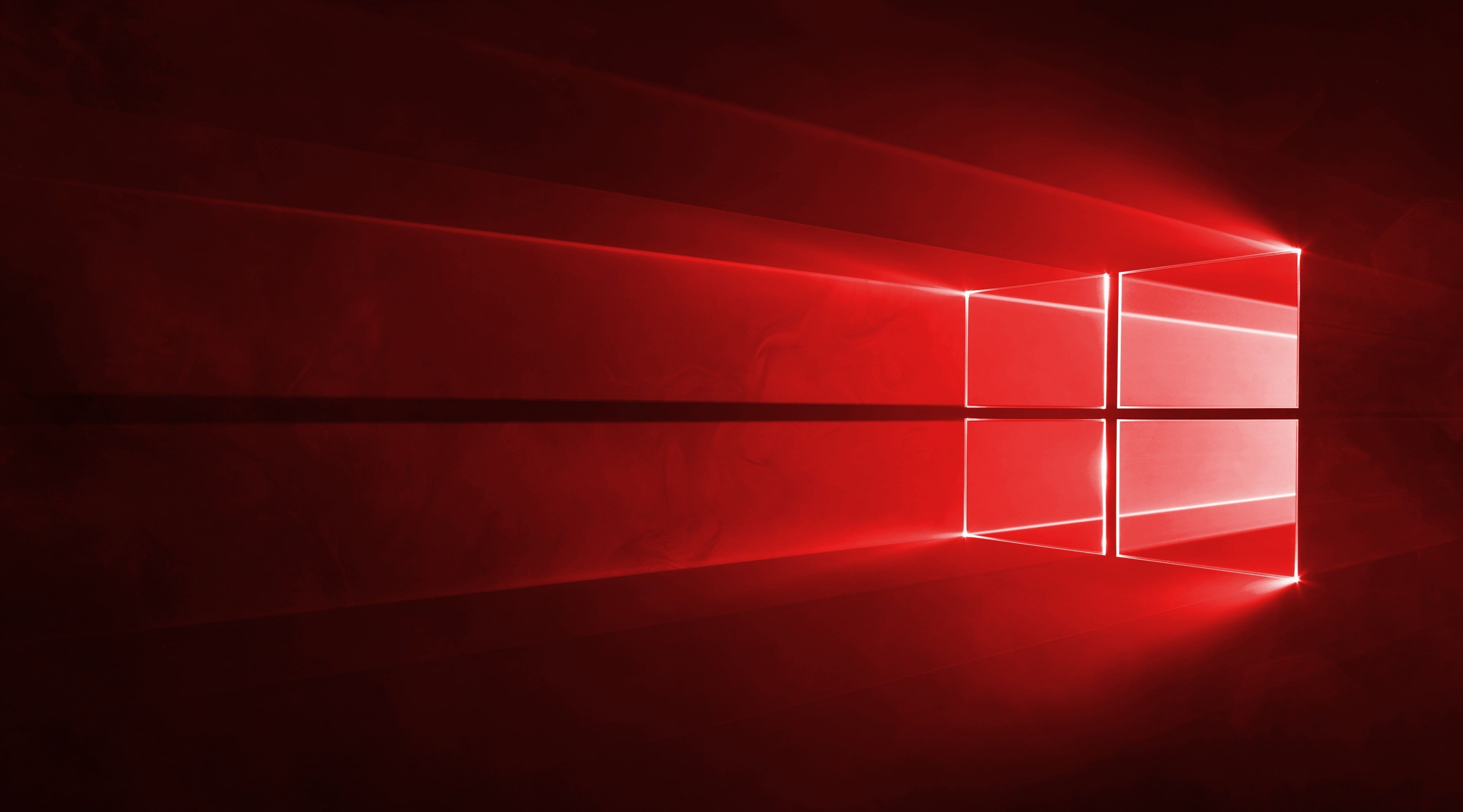 Windows 10 Red In 4k Windows Windows 10 Windows Windows 10 4k