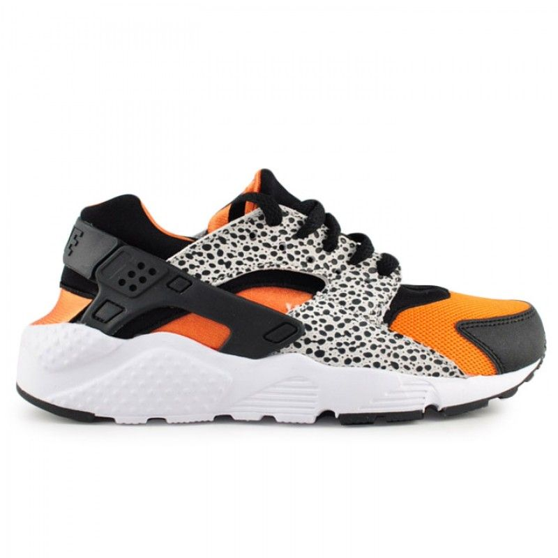 Black · The Nike Kids Huarache Run Safari in GS ...