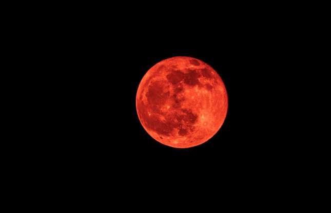 Red Moon Domeniconardozza Shutterstock Strange Weather Red Moon Strange
