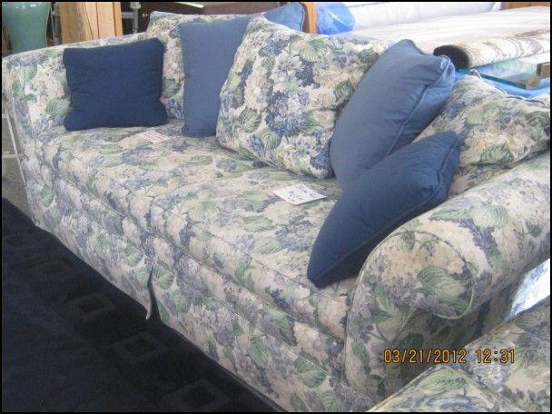 Merveilleux Ethan Allen Floral Sofa