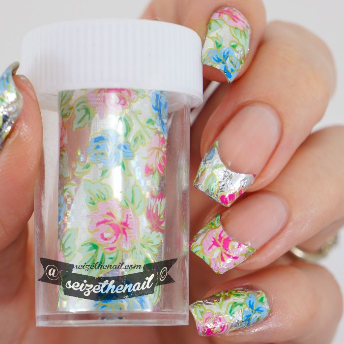 Applying foil without glue. | Nail Art Tutorials | Pinterest | Nail ...