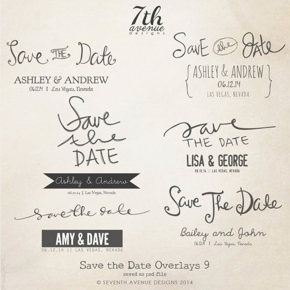 Instant Download Save The Date Words Overlays Vol 9 Etsy Word Template Save The Date Wording Save The Date Templates