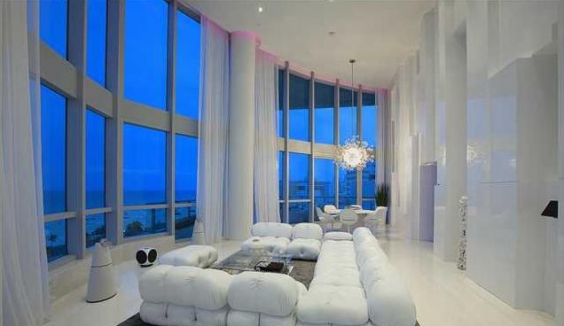 $22,000,000 Modern Condo In Miami Beach, FL   Interesting Homes ...