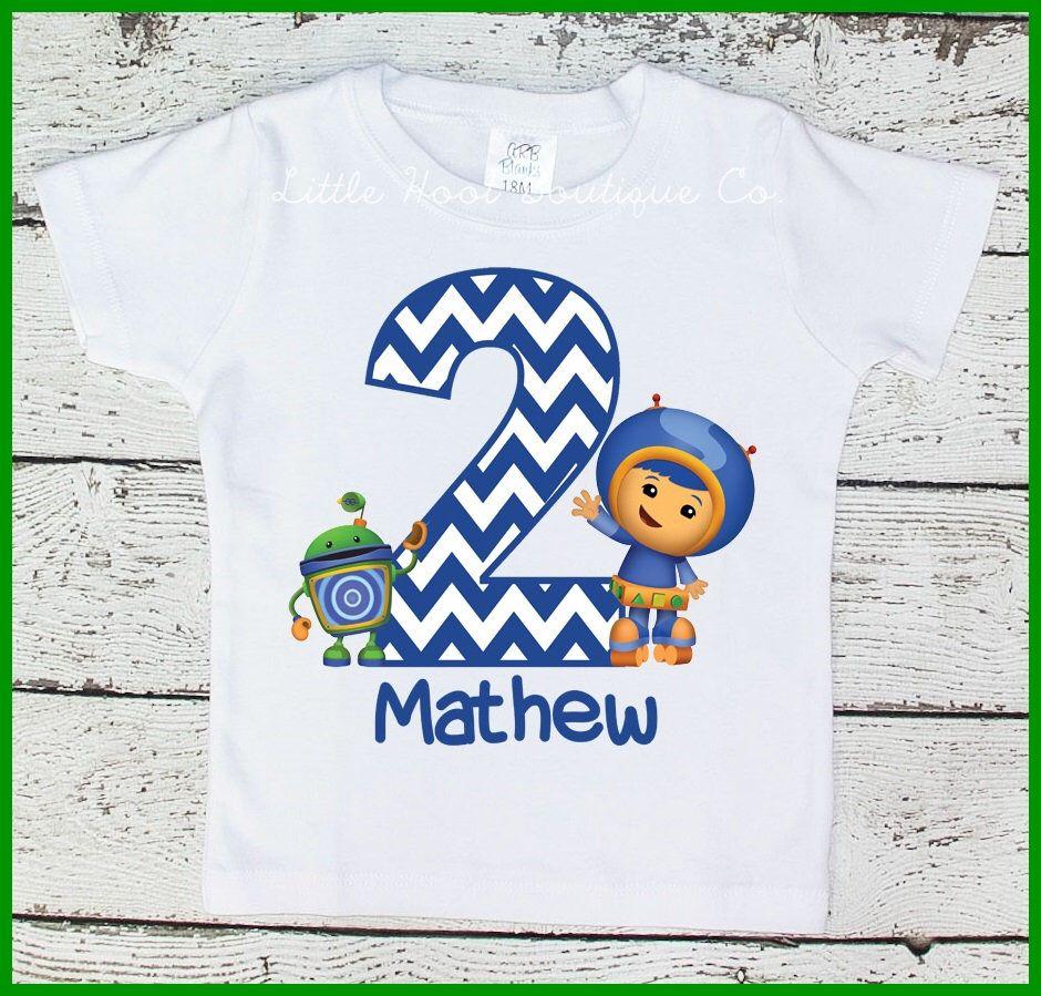 Personalized Team Umizoomi Shirt