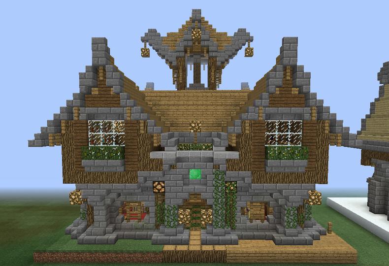 Fantasy Wooden Mansion 1 - Grabcraft