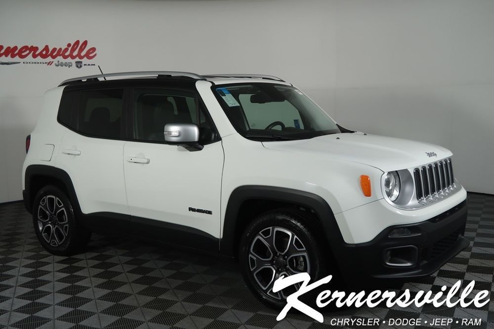 eBay 2016 Jeep Renegade Limited Used 2016 Jeep Renegade