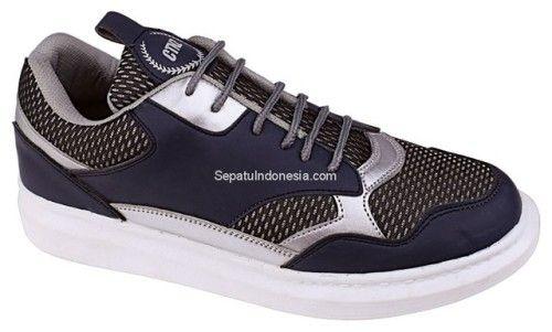 Sepatu Sporty Ctn 19 443 Sintetik Biru Kombinasi 36 40 Rp