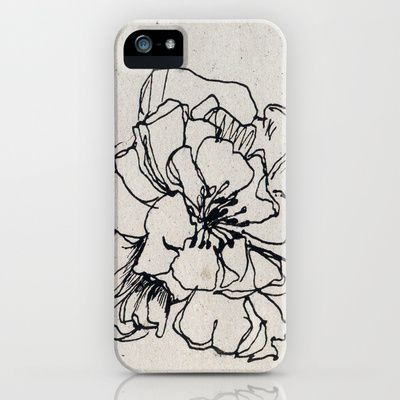 Flower Hairpin iPhone Case by Sasa - $35.00
