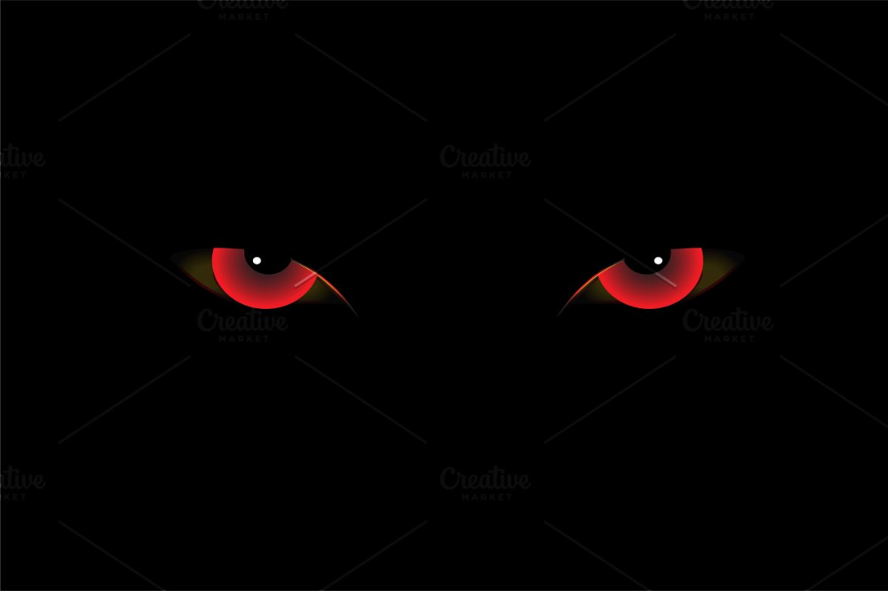 Demon Eyes Red Vector Demon Eyes Demon Aesthetic Eyes Wallpaper