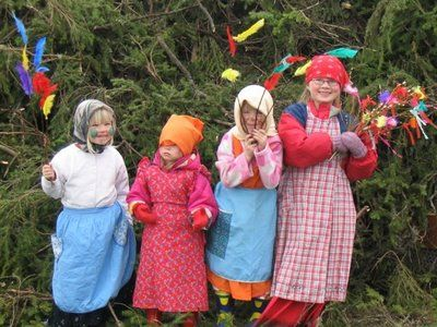 Finnish Easter Witches | amusements | Pinterest | Easter, Finland and Alps