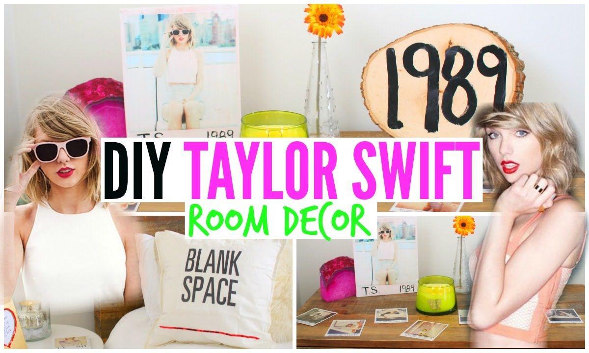 DIY Taylor Swift Room Decor ♡ Cheap + Simple! | || DIY - Room ...