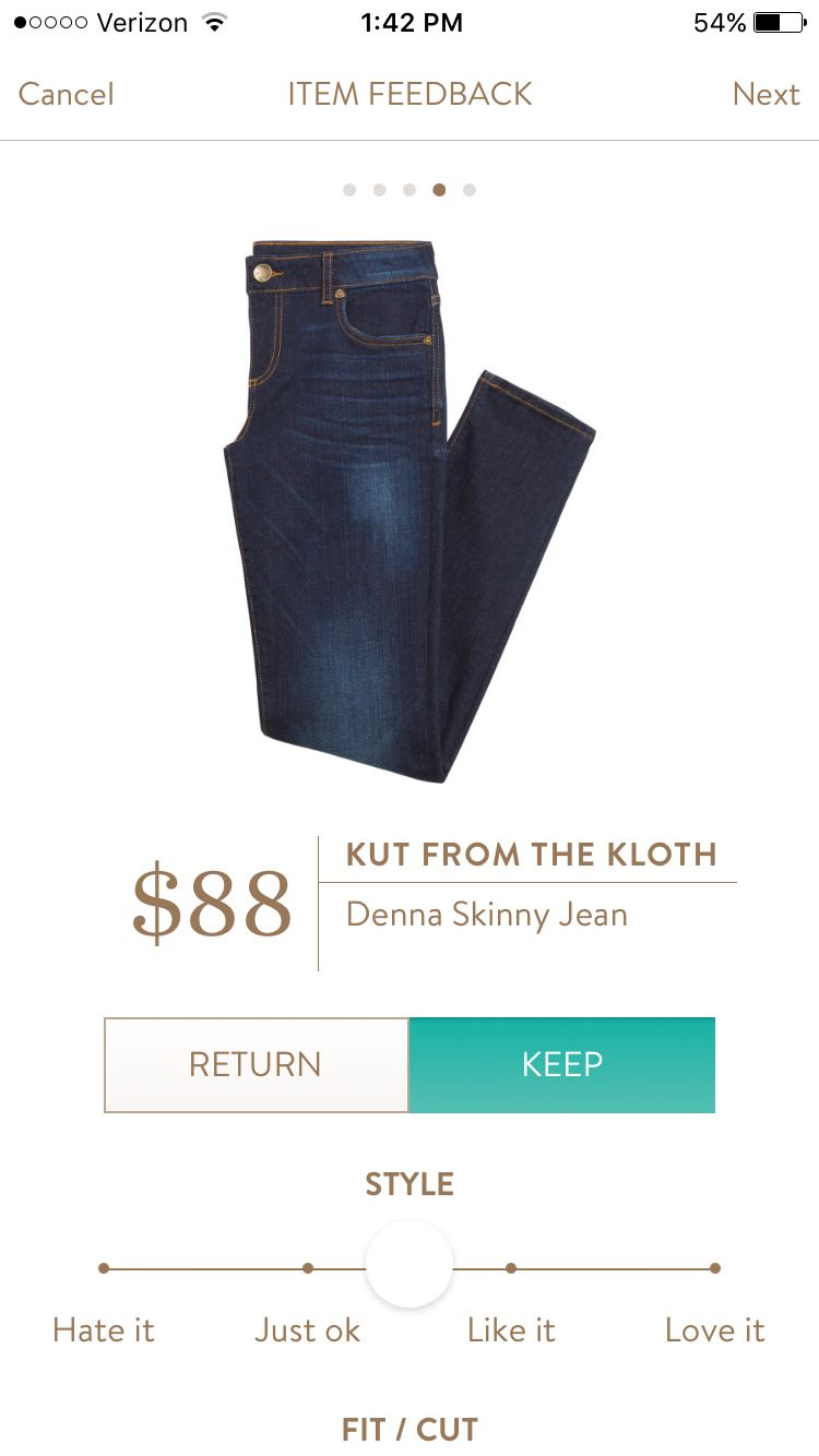Kut From The Kloth Denna Skinny Jeans I Have The Kate Boyfriend Jean And Love Them I Would Liketo Try Some Other Styles Style My Style Stitch Fix Stylist