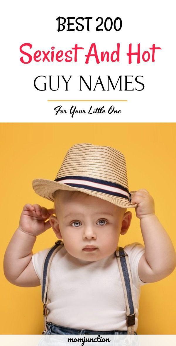 Sexy baby boy names