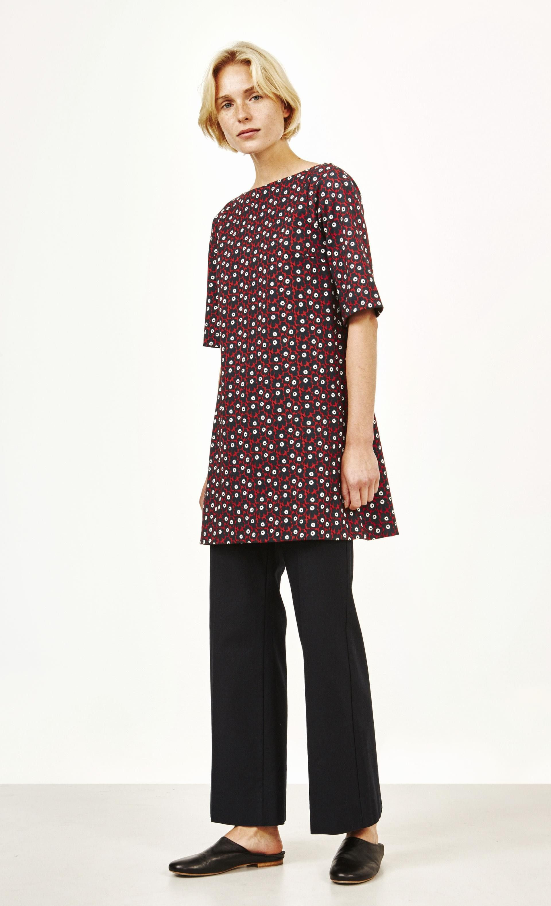 Uuden malliston paidat nyt Marimekon verkkokaupassa. Tervetuloa ostoksille!