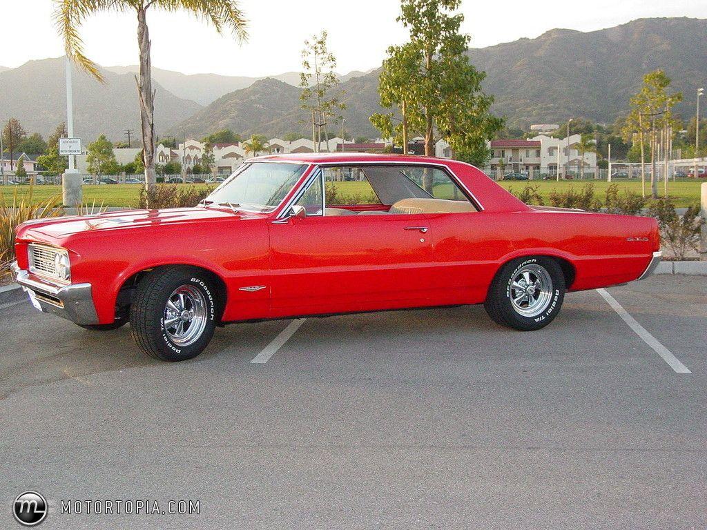 1964 Gto Photo Of A Pontiac Red Goat Gtos 1965 Phs Documented 4 Speed Tri Power 389 Black
