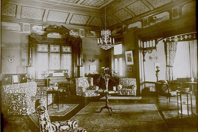 Interior Jesmond House Newcastle Nsw C1890s Newcastle Newcastle Nsw History